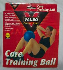 Valeo Fitness Gear CORE TRAINING BALL WITH DVD NEW in Box Pilates