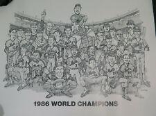 Vintage 1986 Mets Poster