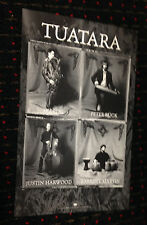 TUATARA Breaking the Ethers 11x17 promo poster 2 sided Screaming Trees Chills
