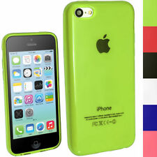 Custodie preformate/Copertine verde per iPhone 5c
