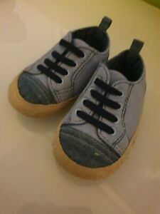 Baby Shoes 6-9 Months Padders Blue Shoes