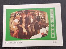 Monty Gum trading card 1970 TV Series: Please Sir #34