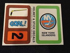 1978 NY ISLANDERS HOCKEY CARD STICKER INSERT NEW !! TOPPS !