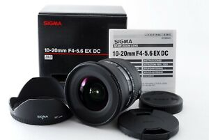 Sigma DC 10-20mm f/4.0-5.6 HSM EX Lens For Canon w/Box [Exc+++] Japan 720246