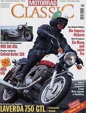 Motorrad Classic 5/95 1995 AWO 425 Laverda 750 GTL Bullet Yamaha RD 125 NSU 501