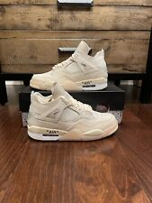 Air Jordan 4 Off-White Sail Size 9.5W/8 M CV9388-100