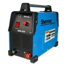 Sherman INVERTER Saldatore Saldatrice ad arco MMA 200 200 A 230AC 50 Hz MMA TIG DC