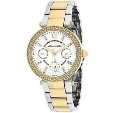 Michael Kors Women's Parker Two Tone Bracelet Watch MK 6055