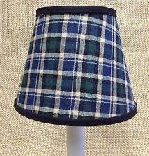 Scottish Black Watch Tartan pattern Chandelier / Candle Handmade Lampshade shade
