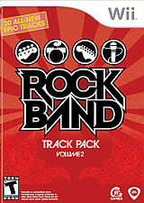 Rock Band Track Pack: Vol. 2 (Nintendo Wii, 2008)