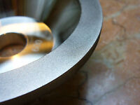 """4"""" inch 100mm THK Diamond coated CONCAVE Grit 600 grinding wheel bench grinder"""
