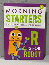 NEW Pre-K Morning Starters Educational/Learning Workbook