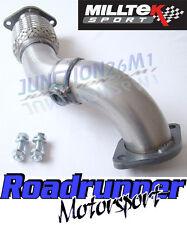Milltek Fiesta ST150 Flexi Pipe Exhaust Stainless Front Pipe MK6 ST 150 MSFD81