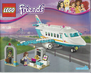 NOTICE LEGO FRIENDS N° 41100 - Jet privé