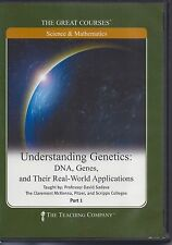 Understanding Genetics: DNA, Genes, and Their Real-World Applications 4 DVDs