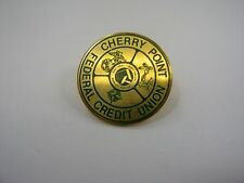 Vintage Collectible Pin: Cherry Point Federal Credit Union