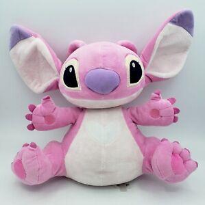 "Lilo & Stitch Girlfriend Pink Angel Alien Plush DISNEY STORE Exclusive14"" EUC"
