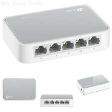 Fast Mini Ethernet 10/100Mbps Network Switch Desktop RJ45 LAN Hub Adapter 5 Port