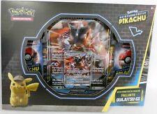 **NEU** Pokemon 45004 Meisterdetektiv Pikachu - Fallakte Quajutsu GX Pin Box OVP