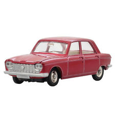 Atlas Diecast 1:43 Alloy Dinky Toys 510 Red Peugeot Car Model
