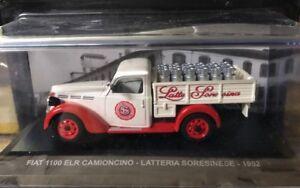"Die Cast "" Fiat 1100 Elr Pickup Truck Dairy Soresinese 1952 "" Ads 1/43"