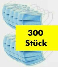 300 medizinische OP Masken Typ IIR 2R Blau Mundschutz 3-lagig Einweg Einwegmaske