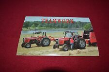 Massey Ferguson 300 Series Tractor Post Card Dealer's Brochure DCPA6
