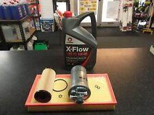 VW GOLF MK4 1.9 TDI PD SERVICE KIT OIL FUEL AIR FILTER - 5 LITRES ALH AGR XFLOW