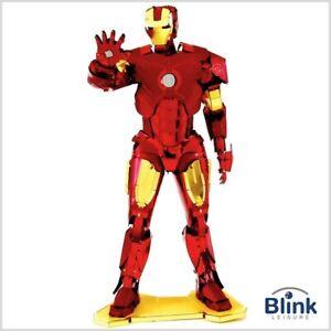 """Metal Earth: Marvel Avengers """"Iron Man"""" Red & Gold 3D Model Kit"""
