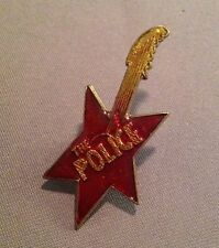 The Police Guitar Lapel Pin (S16)