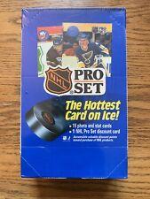 1990 Pro Set NHL Hockey Cards Series 1 New Sealed Box