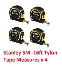 Stanley 5M Tape Measure 5 Metre / 16ft 130696 Tylon 1-30-696 ** 4 PACK **