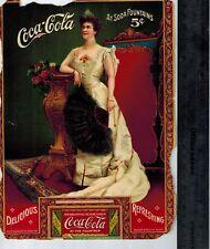 1904 Coca Cola Lillian Nordica Coupon Advertisement Paper Card