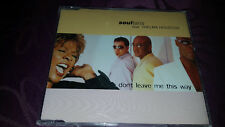 Soultans feat Thelma Houston / Dont leave me this way - Maxi CD