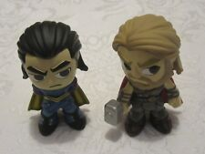 Funko Mystery Minis Bobblehead Ragnarok Gamestop Exclusive Lot of 2 Thor & Loki