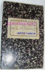 LIVRET DE TRAVAIL D'ENFANT DANS L'INDUSTRIE 1931 - ARDECHE