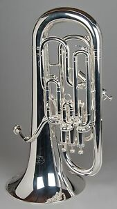 TEMPEST AGILITY WINDS FULLY COMPENSATING EUPHONIUM SILVER PLATED EXACT PITCH