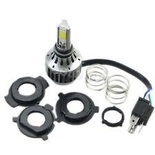 H4 Moto 32W 3000LM COB LED Hi/Lo Faisceau Phare Avant Ampoule Lumière
