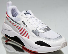Puma Ferrari Race X-Ray 2 Men's White Red Silver Low Lifestyle Sneakers Shoes