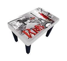 STUNNING PARIS TABLE/FOOTSTOOL.