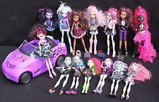 Monster High dolls HUGE lot