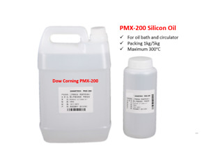 Silicone Oil for Heating Bath and Circulator 50cSt 1kg/1L Pack