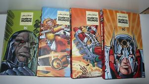 el cuarto mundo - jack kirby - col.completa 4 volumenes - tapa dura - comics