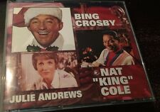 MERRY CHRISTMAS FROM BING CROSBY, NAT KNIG COLE, JULIE ANDREWS - 3 CD SET - F993
