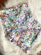 Forever New Women's Floral Cotton Shorts Size 10