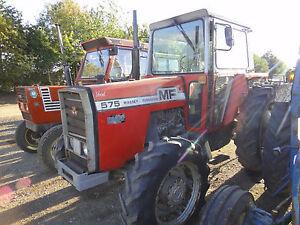 Massey Ferguson 550 565 575 590  Tractor Workshop Manuals - 500 Series