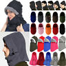 Winter Thermal Balaclava Men Women Ski Face Mask Snood Neck Warmer Hood Hat Cap