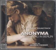 ZBIGNIEW PREISNER - ANONYMA EINE FRAU IN BERLIN 2008 OOP RARE OST