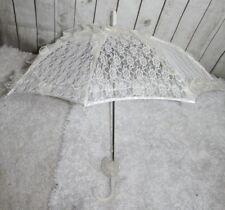 Spitze Sonnenschirm Hochzeit Stockschirm Brautschirm Spitzenschirm Lace Bridal