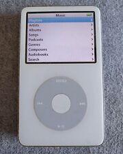 Apple iPod classic 5th Génération blanc (80 Go) légère fissure voir description